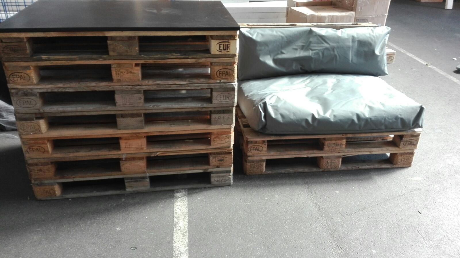 paletten möbel lounge sofa – mmm – mietmöbel loungemöbel für messen